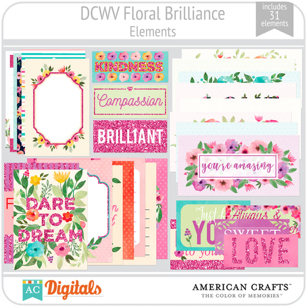 Floral Brilliance Element Pack