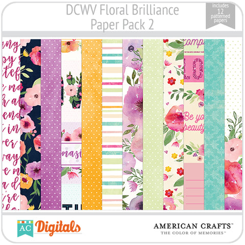 Floral Brilliance Paper Pack 2