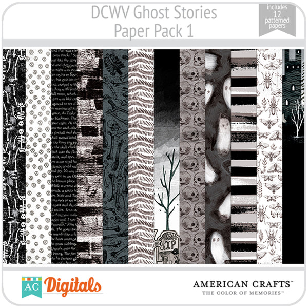 Ghost Stories Paper Pack 1