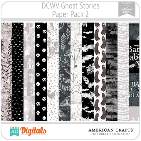 Ghost Stories Paper Pack 2