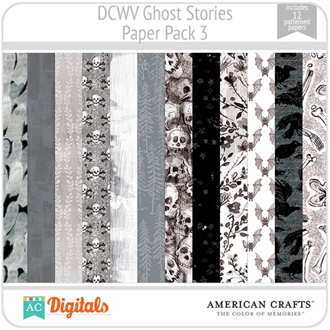 Ghost Stories Paper Pack 3