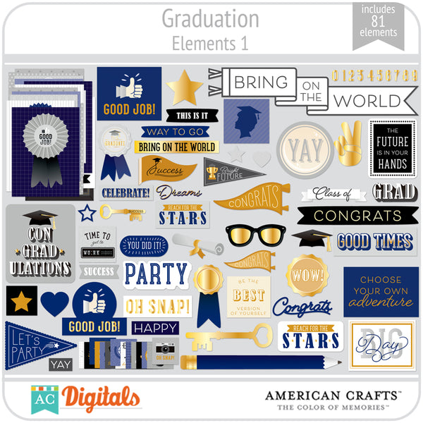 Graduation Element Pack 1