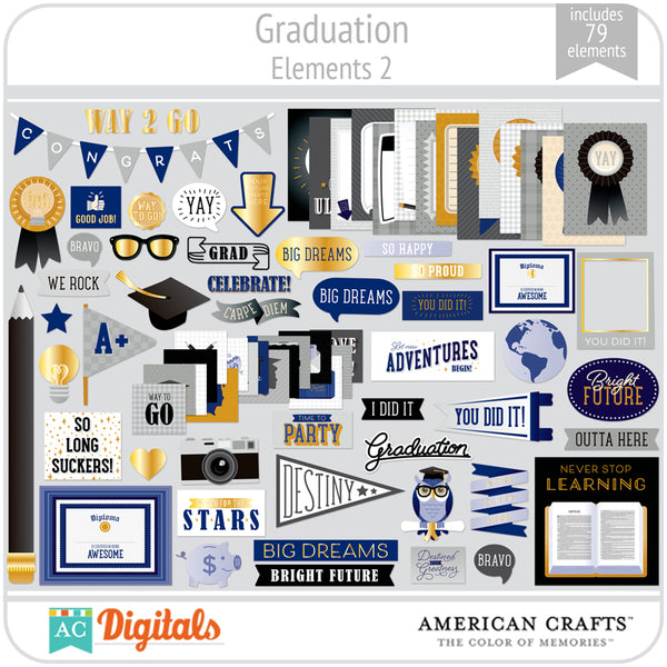 Graduation Element Pack 2