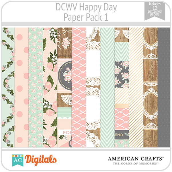 Happy Day Paper Pack 1