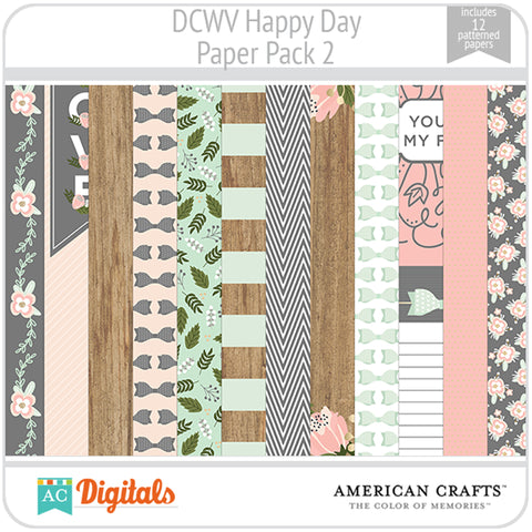 Happy Day Paper Pack 2