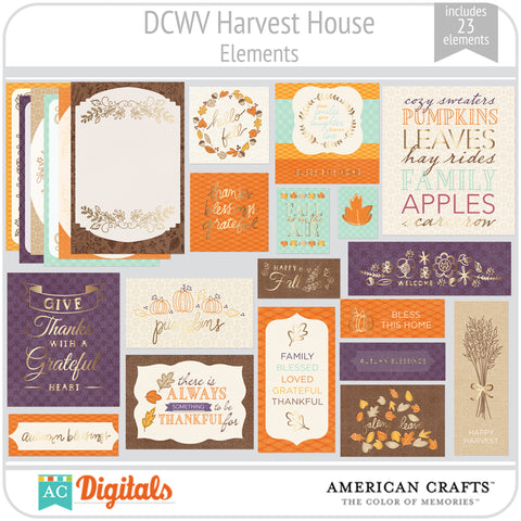 Harvest House Element Pack