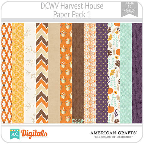 Harvest House Paper Pack 1