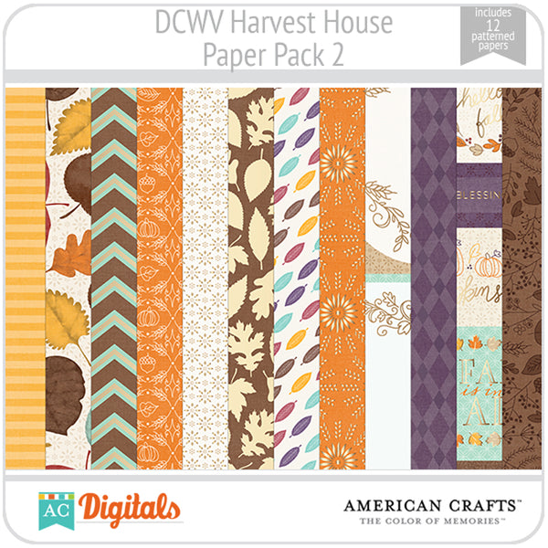 Harvest House Paper Pack 2
