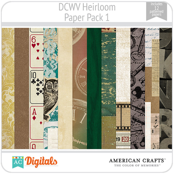 Heirloom Paper Pack 1