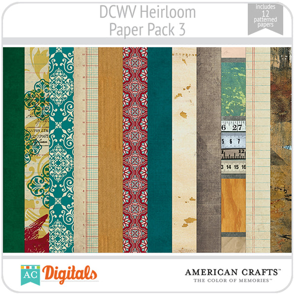 Heirloom Paper Pack 3