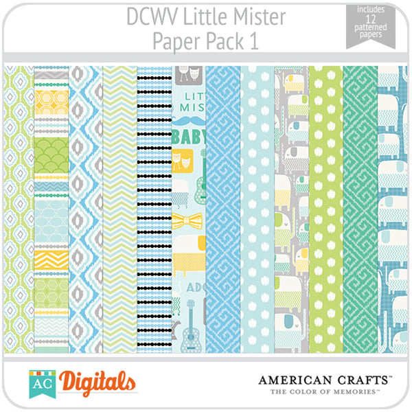 Little Mister Paper Pack 1