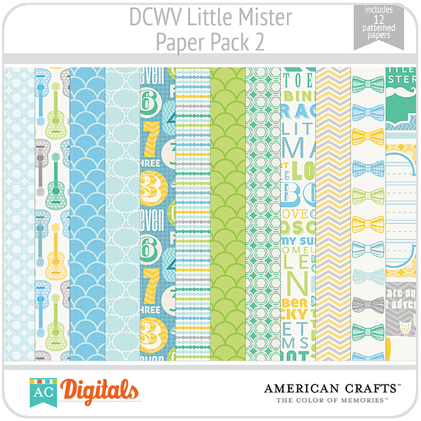 Little Mister Paper Pack 2