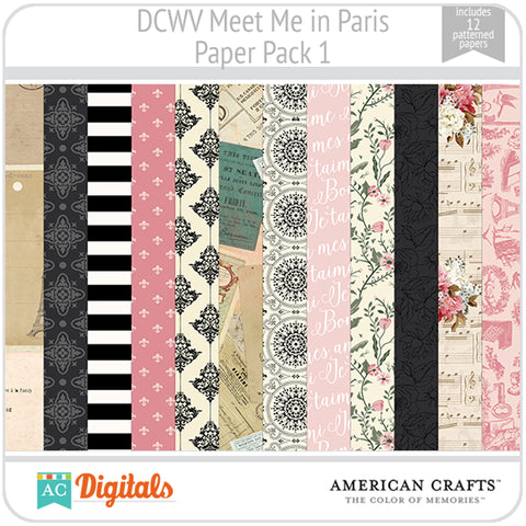 Meet Me in Paris Paper Pack 1