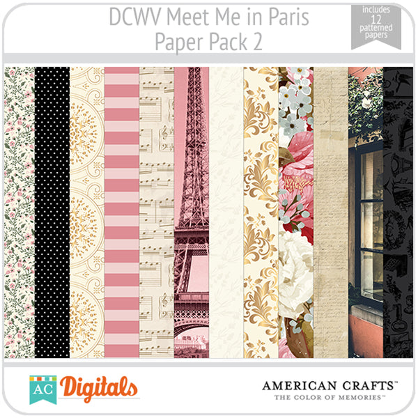 Meet Me in Paris Paper Pack 2
