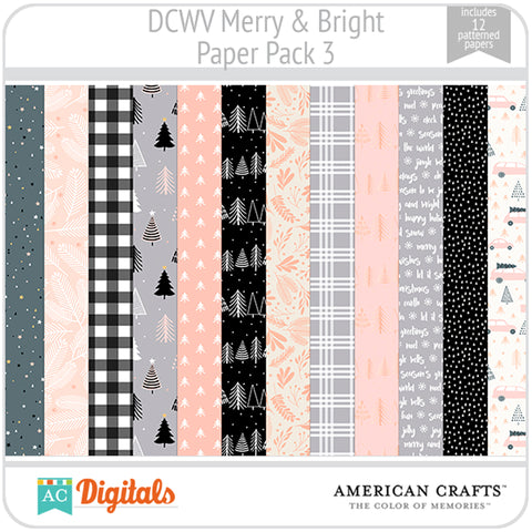Merry & Bright Paper Pack 3