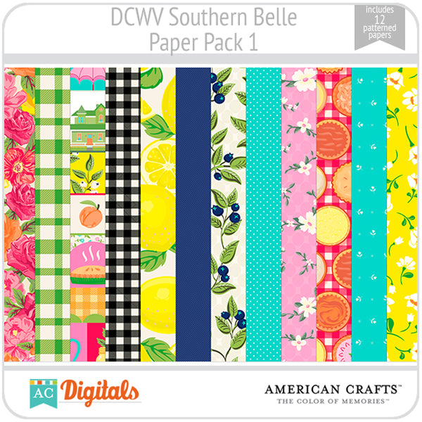 Southern Belle Paper Pack 1