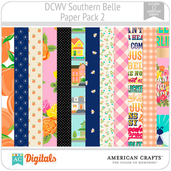 Southern Belle Paper Pack 2