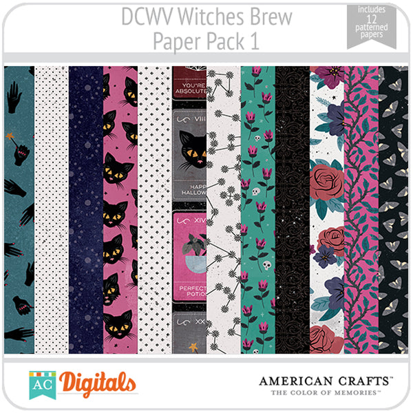 Witches Brew Paper Pack 1