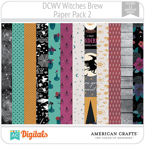 Witches Brew Paper Pack 2
