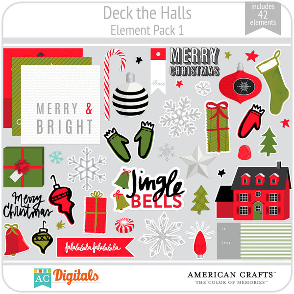 Deck the Halls Element Pack 1