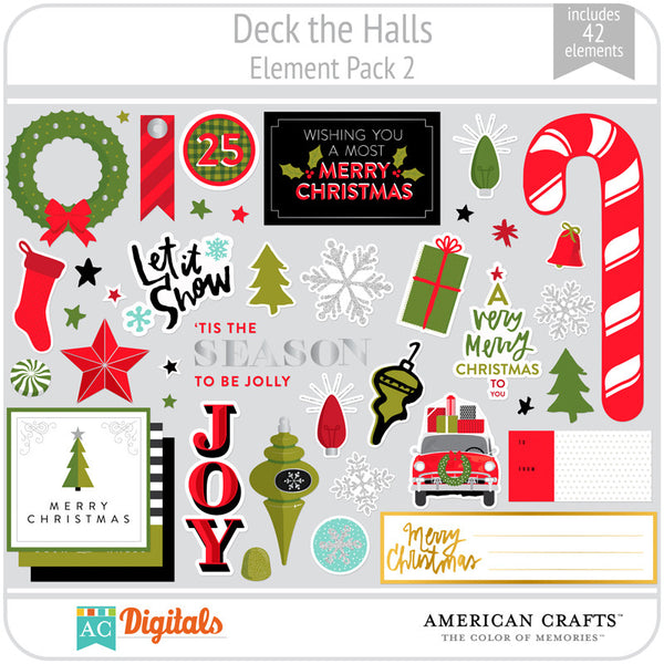 Deck the Halls Element Pack 2
