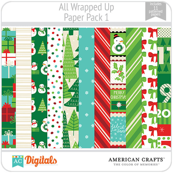 All Wrapped Up Paper Pack 1