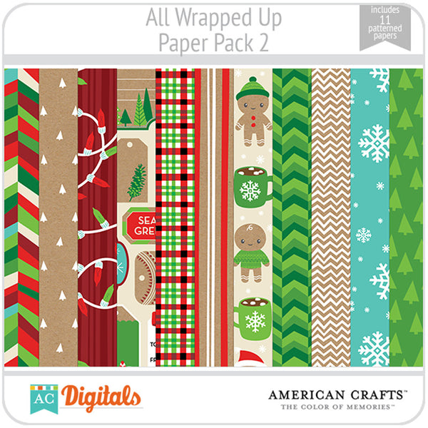 All Wrapped Up Paper Pack 2
