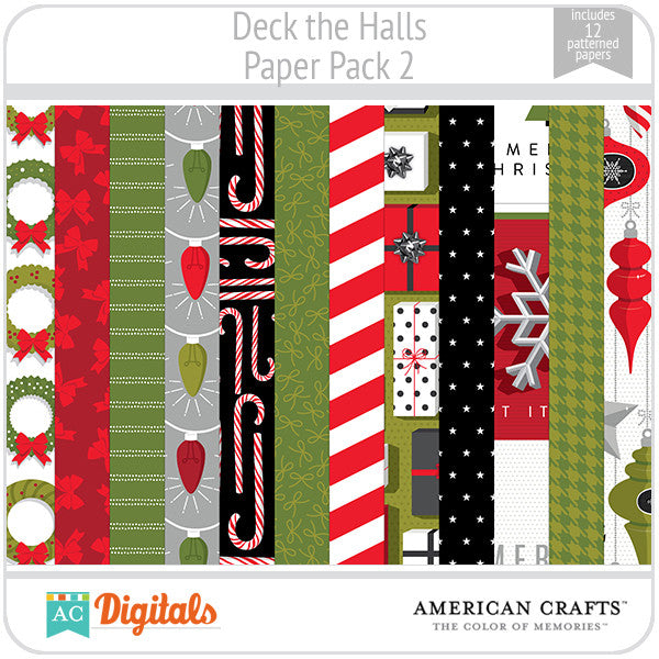 Deck the Halls Paper Pack 2