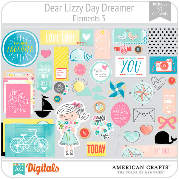 Dear Lizzy Day Dreamer Full Collection
