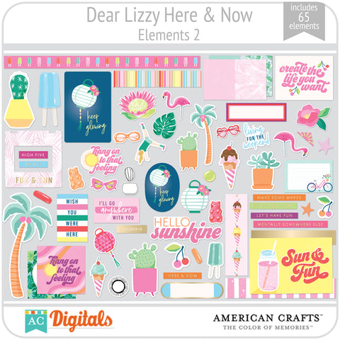 Dear Lizzy Here and Now Element Pack 2