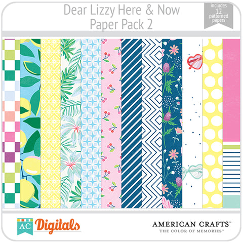 Dear Lizzy Here and Now Paper Pack 2
