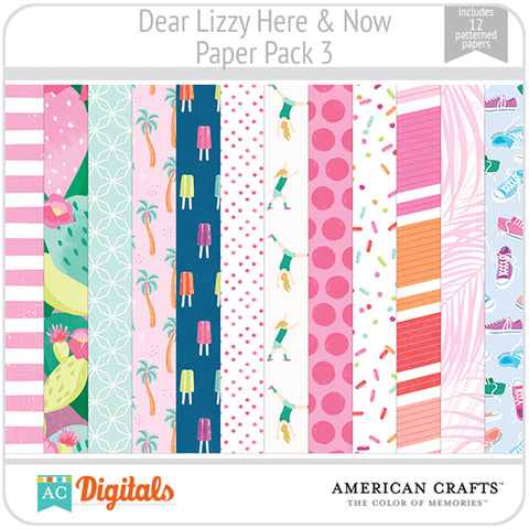 Dear Lizzy Here and Now Paper Pack 3