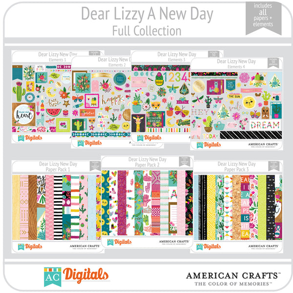 Dear Lizzy New Day Full Collection