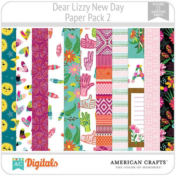 Dear Lizzy New Day Paper Pack 2