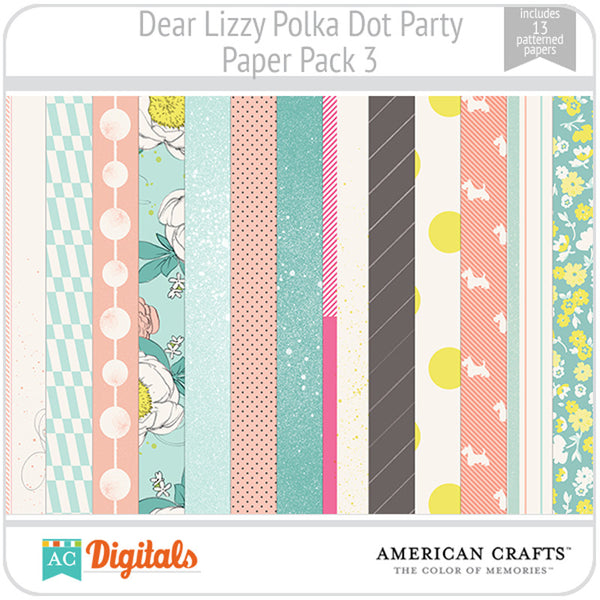 Dear Lizzy Polka Dot Party Full Collection
