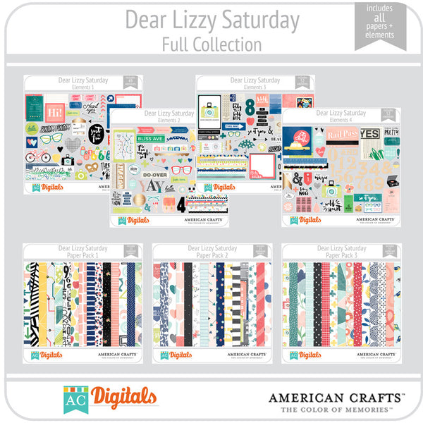 Dear Lizzy Saturday Complete Collection