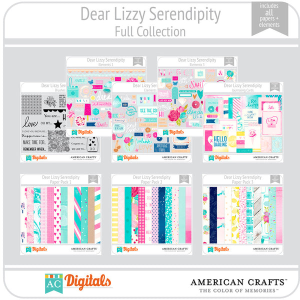 Dear Lizzy Serendipity Complete Collection
