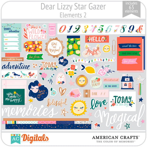 Dear Lizzy Star Gazer Element Pack 2