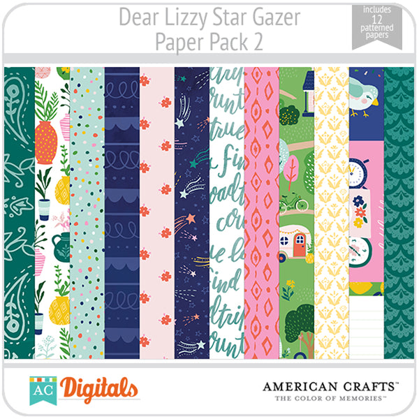 Dear Lizzy Star Gazer Full Collection