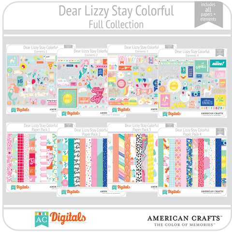 Dear Lizzy Stay Colorful Full Collection