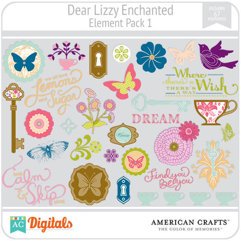Dear Lizzy Enchanted Element Pack #1