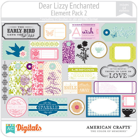 Dear Lizzy Enchanted Element Pack #2