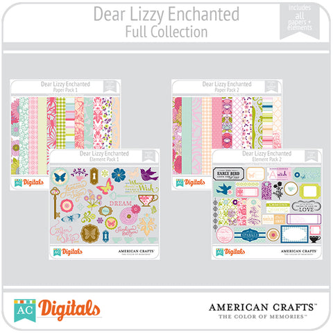 Dear Lizzy Enchanted Full Collection