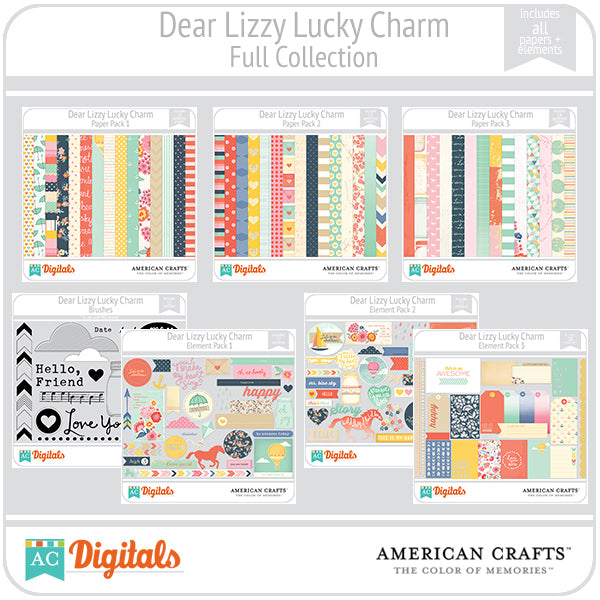 Dear Lizzy Lucky Charm Full Collection
