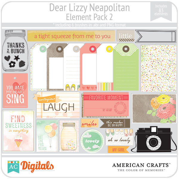 Dear Lizzy Neapolitan Full Collection