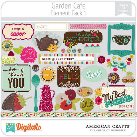 Garden Cafe Element Pack #1