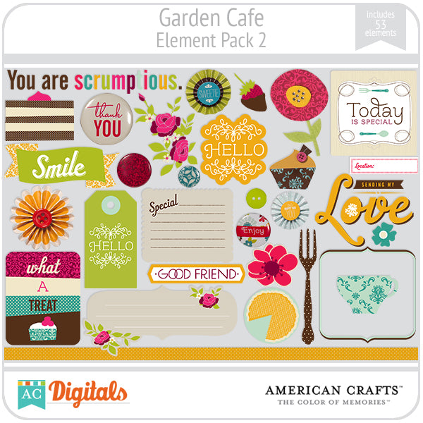 Garden Cafe Element Pack #2