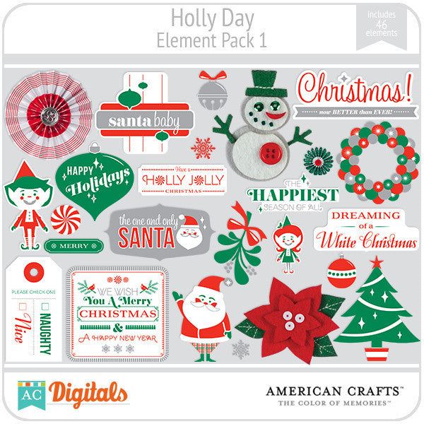 Hollyday Element Pack #1