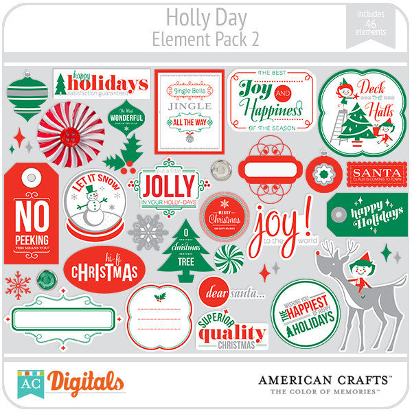 Hollyday Element Pack #2