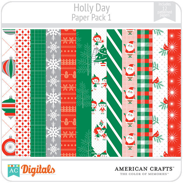 Hollyday Paper Pack #1